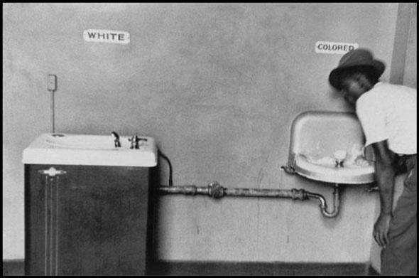 Racial segregation in the southern US
