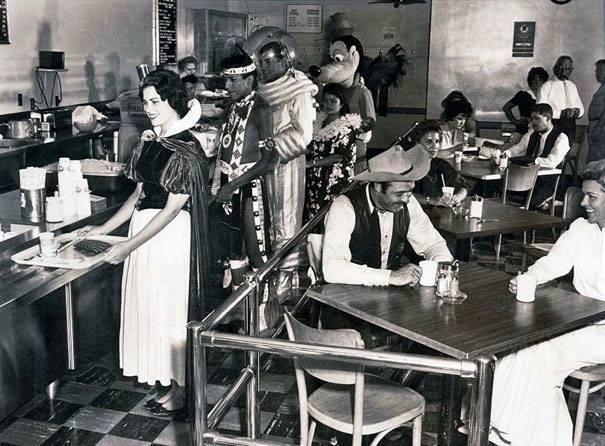 Disney coffee shop in 1961.