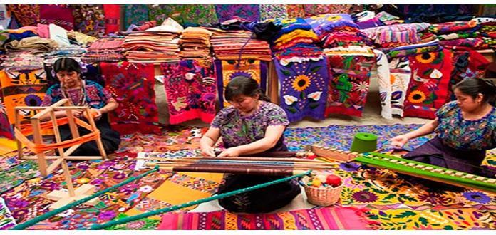 Indígenas textiles herencia cultural