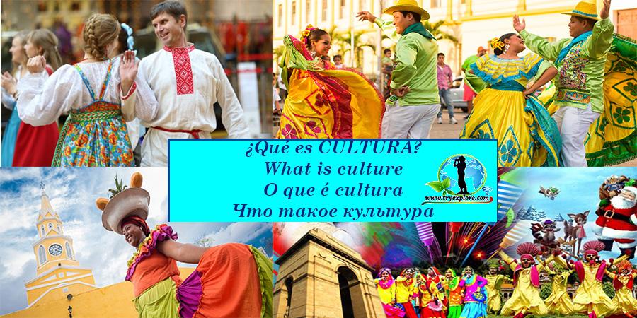 Diferentes conceptos de Cultura.