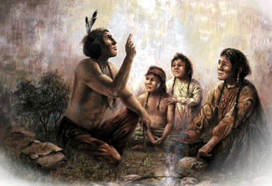 The rites and beliefs American Indians