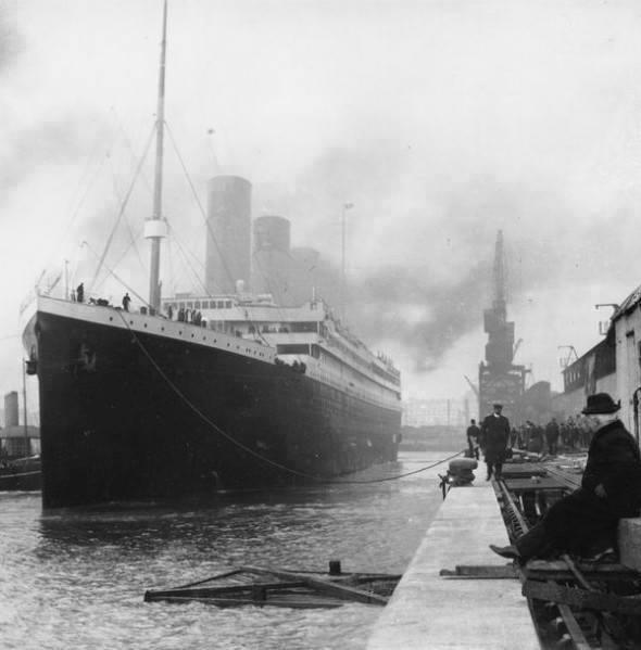 El Titanic 1912