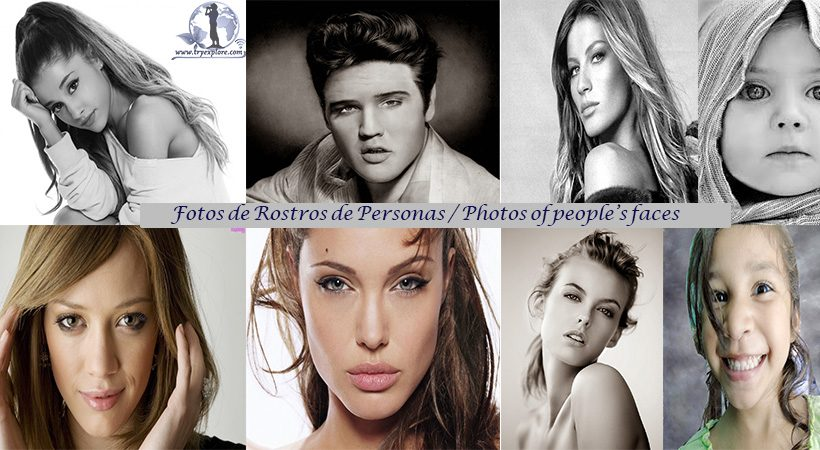 Fotos de Rostros de Personas. Photos of people's faces