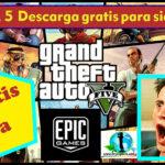 Como descargar GTA V Gratis en Epic Games + GTA 5 Online Free (PC)