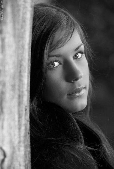Fotos de Rostros en Blanco y Negro