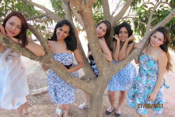 Women of the Brazilian people Noiva do Cordeiro