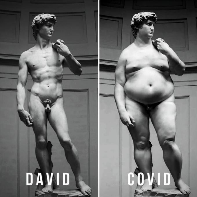 la obesidad como consecuencia de la cuarentena