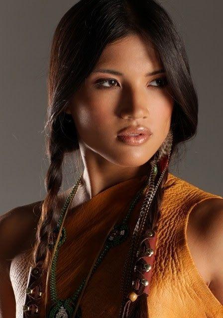 Mujeres bellas indígenas